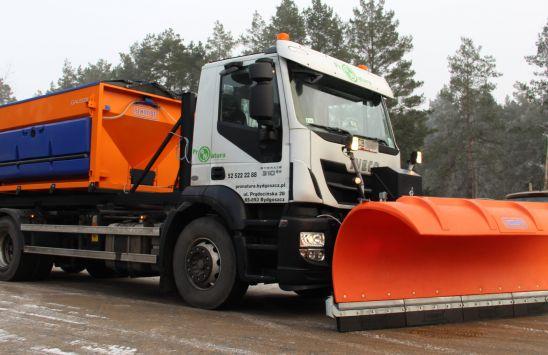 Oferujemy usługi profesjonalnego utrzymania zimowego dróg i placów